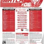 Feuille de Match n°06 saison 09/10