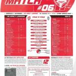 Programme Nancy-Monaco (Feuille de match #06) - Saison 2010-2011 - L1 (12e j., 07/11/2010)