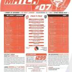 Programme Nancy-Valenciennes (Feuille de match #07) - Saison 2010-2011 - L1 (14e j., 20/11/2010)