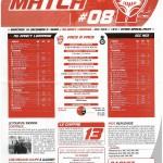 Feuille de Match n°08 saison 09/10