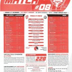 Programme Nancy-St-Étienne (Feuille de match #08) - Saison 2010-2011 - L1 (15e j., 27/11/2010)