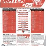 Feuille de Match n°09 saison 09/10