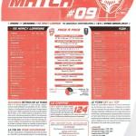 Programme Nancy-Sochaux (Feuille de match #09) - Saison 2010-2011 - L1 (17e j., 11/12/2010)