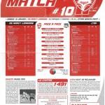 Feuille de Match n°10 saison 09/10
