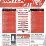Feuille de Match n°11 saison 09/10
