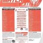 Programme Nancy-Montpellier (Feuille de match #11) - Saison 2010-2011 - L1 (21e j., 30/01/2011)
