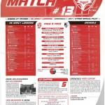 Feuille de Match n°13 saison 09/10