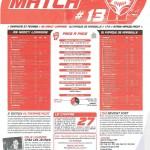 Programme Nancy-Marseille (Feuille de match #13) - Saison 2010-2011 - L1 (25e j., 27/02/2011)