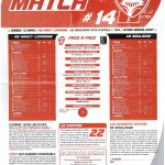 Feuille de Match n°14 saison 09/10