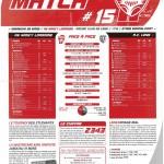 Feuille de Match n°15 saison 09/10