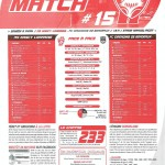 Programme Nancy-Bordeaux (Feuille de match #15) - Saison 2010-2011 - L1 (29e j., 02/04/2011)