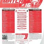 Programme Nancy-Arles-Avignon (Feuille de match #16) - Saison 2010-2011 - L1 (32e j., 24/04/2011)