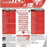 Feuille de Match n°19 saison 09/10