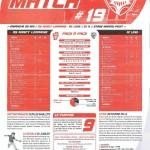 Programme Nancy-Lens (Feuille de match #19) - Saison 2010-2011 - L1 (38e j., 29/05/2011)