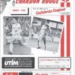 Le Nouveau Chardon Rouge Coupe de France 16eme de Finale saison 84/85