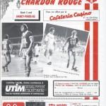 Le Nouveau Chardon Rouge Coupe de France 8eme de Finale saison 84/85