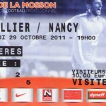 Billet Montpellier-Nancy - Saison 2011-2012 - L1 (12e j., 29/10/2011)