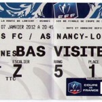 Billet Rennes-Nancy - Saison 2011-2012 - Coupe de France (32e de finale, 07/01/2012)
