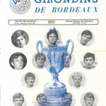 Programme Bordeaux-Nancy - Saison 1970-1971 - Coupe de France (8e de finale, 27/03/1971)