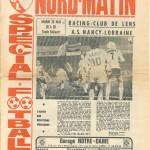 Programme Lens-Nancy - Saison 1975-1976 - D1 (35e j., 25/05/1976)