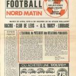 Programme Lens-Nancy - Saison 1977-1978 - D1 (36e j., 25/04/1978)