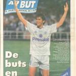 Programme OM-Nancy - Saison 1995-1996 - D2 (34e j., 30/03/1996)