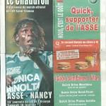 Programme St-Étienne-Nancy - Saison 2007-2008 - Ligue 1 (25e j., 16/02/2008)