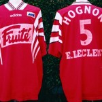 Maillot championnat extérieur porté/préparé (Vincent Hognon) - Saison 1996-1997 [collection privée Jumeaudf]