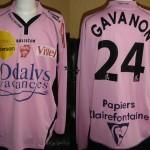 Maillot championnat « third » porté/préparé (Benjamin Gavanon) - Saison 2006-2007 [collection privée Jumeaudf]
