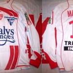 Maillot championnat domicile porté/préparé (Damian Macaluso) – Saison 2008-2009 [Collection privée d'ASNL-Infos (Officiel)]