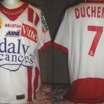 Maillot championnat domicile porté/préparé (Emmanuel Duchemin) - Saison 2005-2006 [collection privée Jumeaudf]
