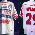 Maillot championnat domicile préparé/porté (Samuel Wiart) - Saison 2002-2003 [Collection privée Jumeaudf]