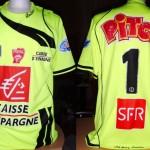 Maillot gardien Coupe de France porté/préparé (non utilisé) - Saison 2008-2009 [Collection privée Jumeaudf]