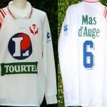 Maillot championnat domicile porté/préparé - Saison 1994-1995 [Collection privée Jumeaudf]