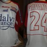 Maillot championnat domicile porté/préparé (Benjamin Gavanon) - Saison 2004-2005 [Collection privée Jumeaudf]