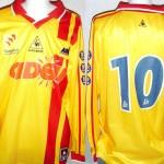 Maillot championnat extérieur préparé - Saison 2001-2002 [Collection privée Jumeaudf]