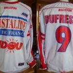 Maillot championnat domicile porté/préparé (Laurent Dufresne) - Saison 2002-2003 [Collection privée Jumeaudf]
