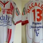 Maillot championnat domicile porté/préparé (Damian Macaluso) - Saison 2006-2007 [Collection privée ASNL54600]