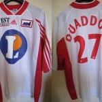 Maillot championnat domicile porté/préparé (Abdeslam Ouaddou) - Saison 1999-2000