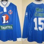 Maillot championnat « third » porté/préparé - Saison 1994-1995