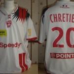 Maillot Coupe de la Ligue porté/préparé (Michaël Chrétien) - Saison 2007-2008 [Collection privée Jumeaudf]