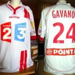 Maillot Coupe de la Ligue porté/préparé (Benjamin Gavanon) - Saison 2006-2007 [Collection privée Jumeaudf]