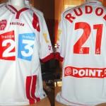 Maillot Coupe de la Ligue porté/préparé (Gergely Rudolf) - Saison 2006-2007 [Collection privée Jumeaudf]