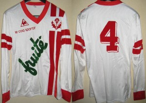 Maillot championnat domicile porté Perdriau Saison 1978-1979