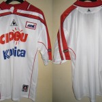 Maillot réplica (sponsors utilisés pour les matches à l'extérieur) - Saison 2000-2001