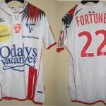Maillot championnat domicile porté/préparé (Marc-Antoine Fortuné) - Saison 2007-2008