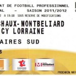 Billet Sochaux-Nancy  - Saison 2011-2012 - L1 (36e j., 07/05/2012)