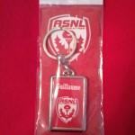 Porte-clés personnalisé ASNL (Collection ASNL-Infos)
