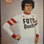 Carte postale Michel Platini