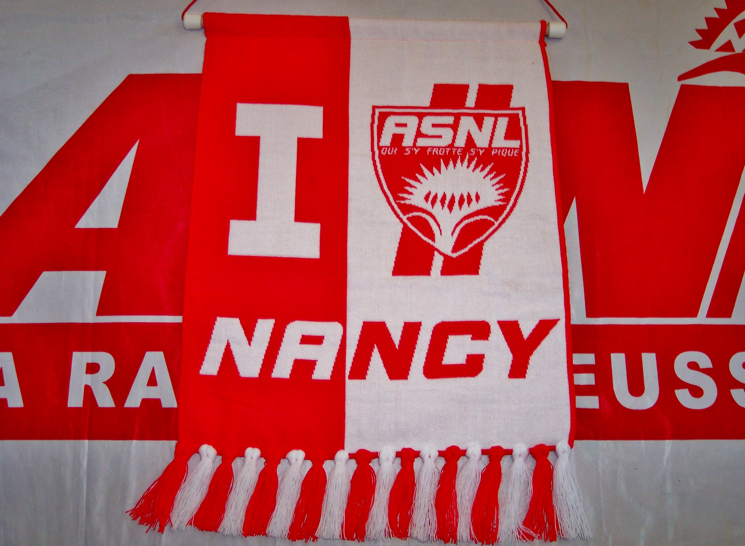 Grand fanion ASNL 2012-2013  (Collection : ASNL-Infos)